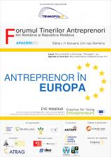 Tinerii antreprenori din România și Republica Moldova află miercuri la Iași care sunt modalitățile de a-și extinde afacerile pe piața europeană