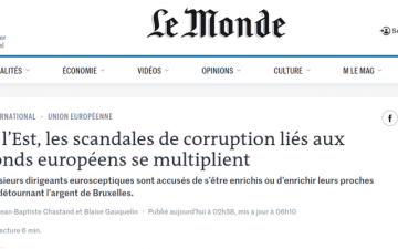 Scandalurile de corupție legate de fondurile europene se înmulțesc în statele din estul Europei