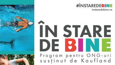 Al doilea apel de proiecte #înstaredebine are loc între 11-13 iunie