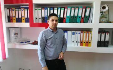 Alin Buliga din judeţul Botoşani, a reuşit să atragă în numai doi ani peste 10 milioane de euro din fonduri europene pentru satul său natal