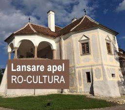Apel de proiecte – Restaurarea și revitalizarea monumentelor istorice