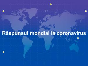 Răspunsul mondial la coronavirus: UE lansează o campanie de strâns donații