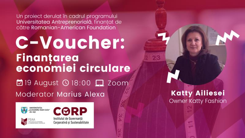 Workshop: C-Voucher – finanțarea economiei circulare