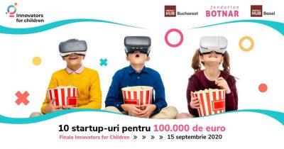Pitch Day: Innovators for Children 2020