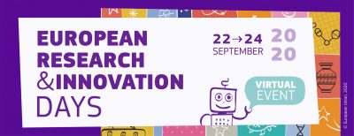 European Research and Innovation Days – 22-24 septembrie 2020