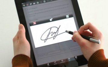 Facilități pentru semnarea electronică a documentelor