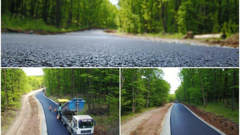 Două comune din Alba s-au asociat pentru a construi un drum din bani europeni. Inedit: Ce soluție au găsit pentru a proteja noua investiție de traficul utilajelor agricole