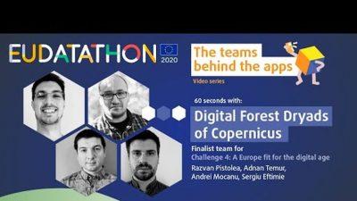 Au fost anunţaţi câștigătorii EU Datathon 2020: printre câștigători – proiectul românesc Digital Dryads
