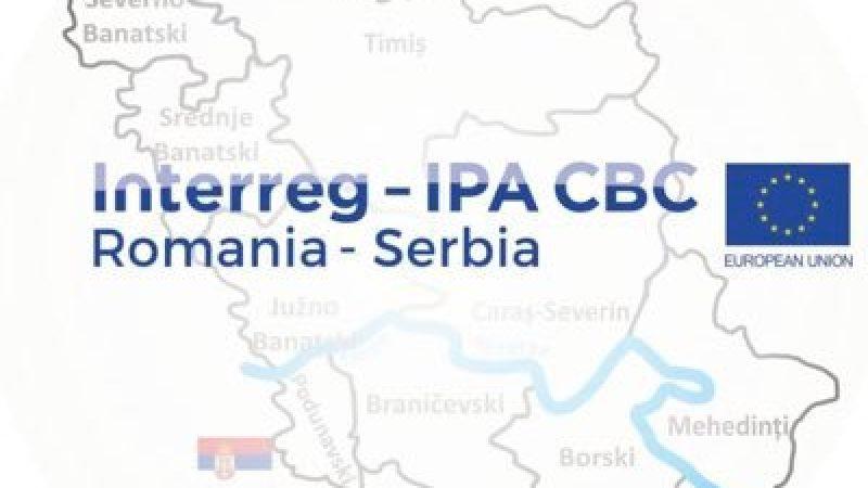 Programul Interreg IPA de cooperare transfrontalieră România-Serbia: au fost semnate 2 contracte de finanțare, în valoare de aproximativ 1milion de euro