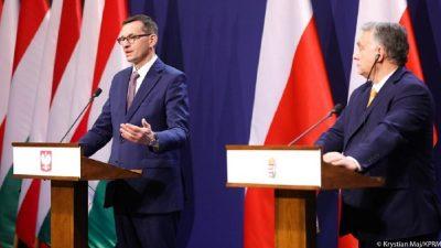 Ungaria şi Polonia resping în continuare condiţionarea fondurilor europene de respectarea statului de drept