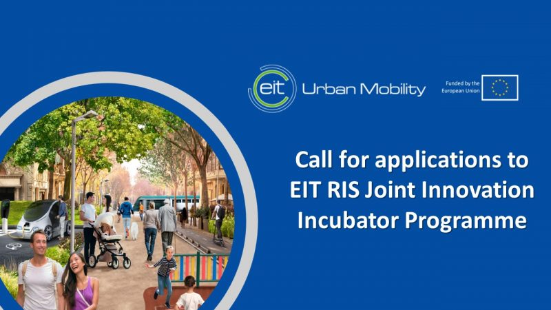 Call for applications to EIT RIS Joint Innovation Incubator Programme