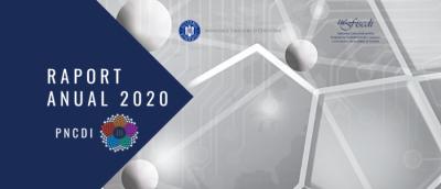 UEFISCDI a publicat raportul anual de activitate PNCDI III pentru anul 2020
