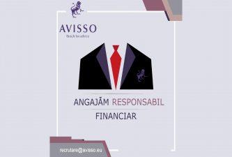 AVISSO angajeaza Responsabil Financiar pentru departamentul de Finantari nerambursabile