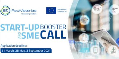 EIT RawMaterials Start-up and SME Booster Call 2021